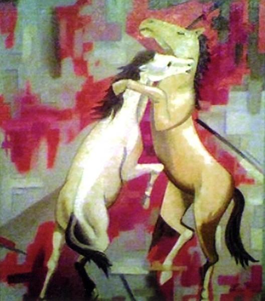 Picturi cu animale Joaca