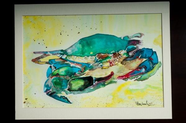 Picturi cu animale Crab