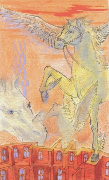Picturi cu animale Cal 1
