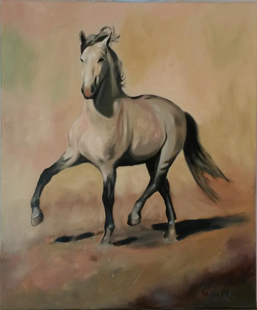 Picturi cu animale caballo español