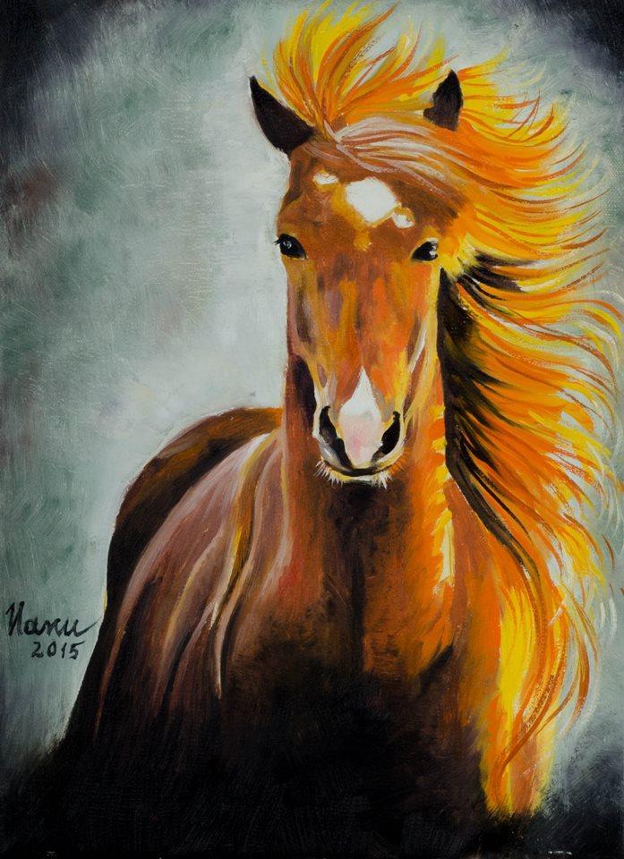 Picturi cu animale Cal...