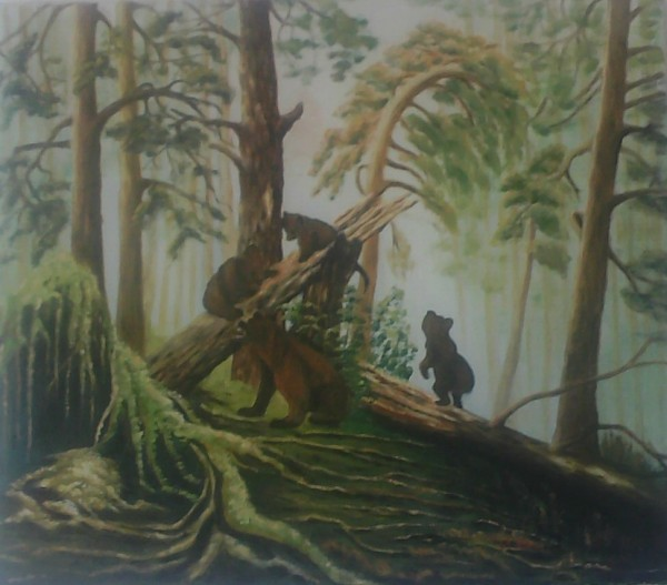 Picturi cu animale Animale ursii