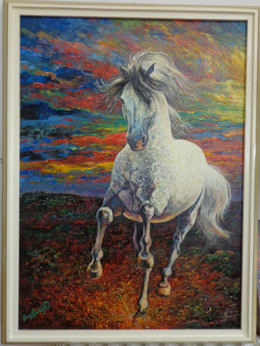 Picturi cu animale alergand