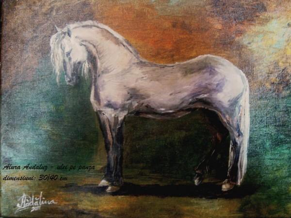 Picturi cu animale Alura andaluz