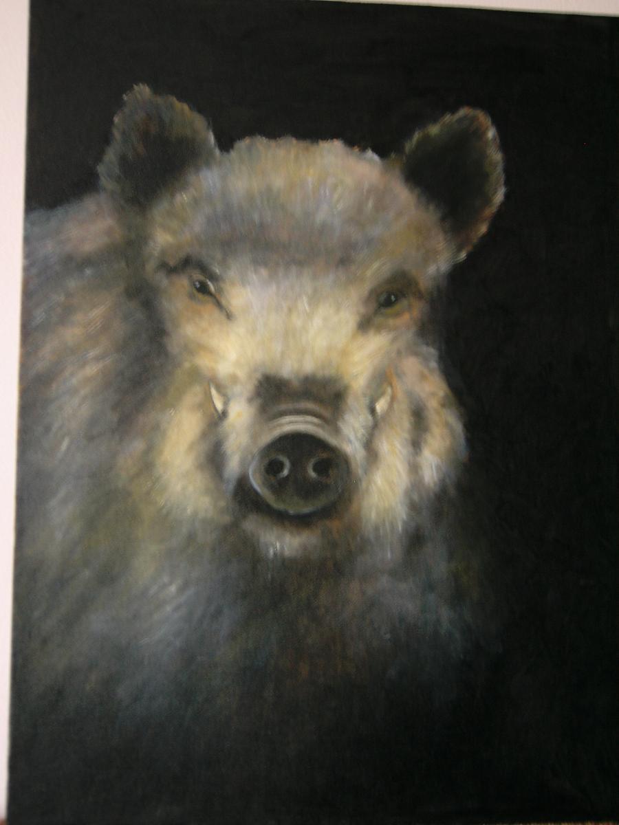 Picturi cu animale Mistret