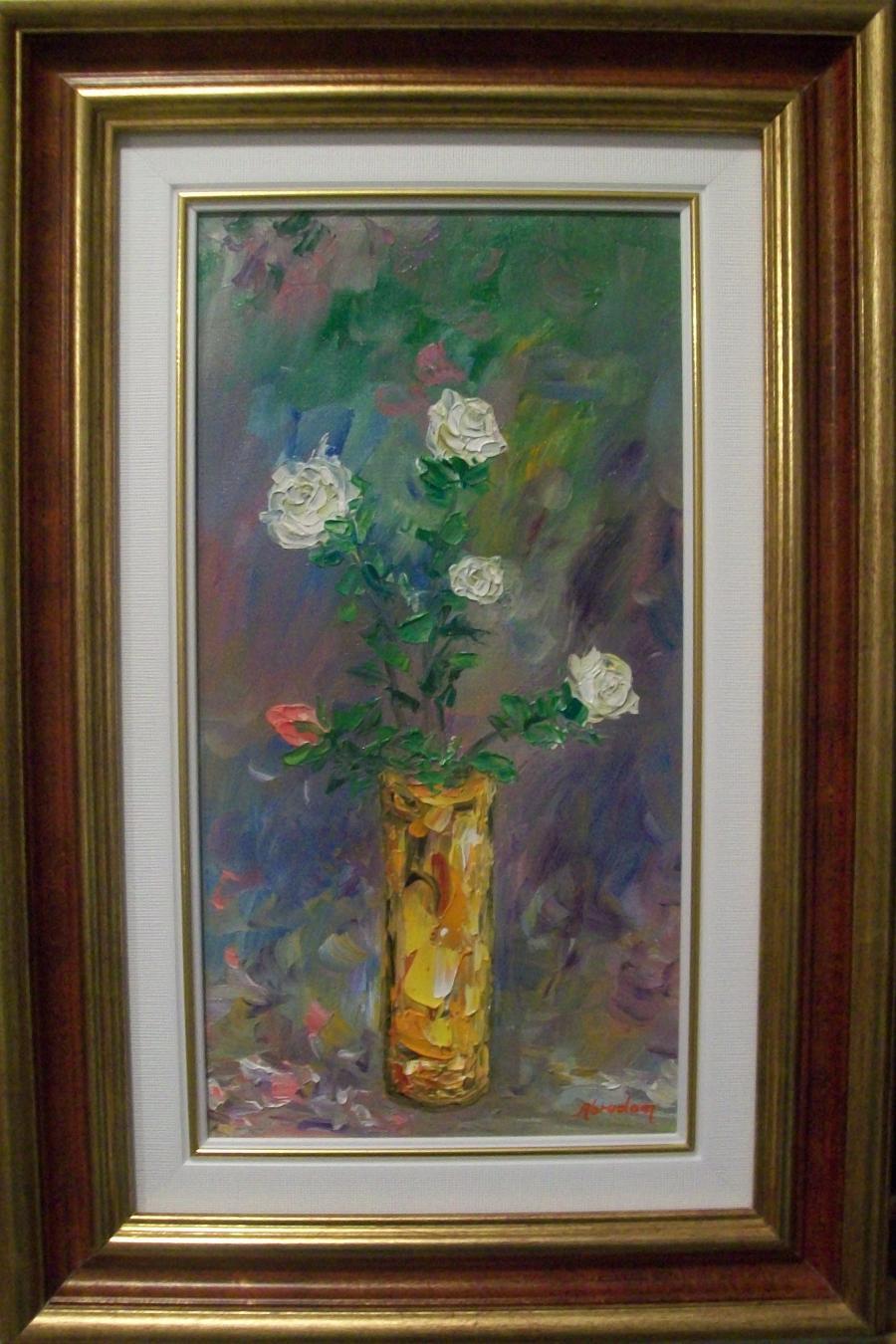 Picturi cu flori Tusa florala