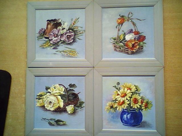Picturi cu flori lolaj floral 1