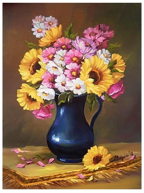 Picturi cu flori ARMONII FLORALE