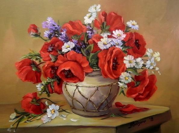 Picturi cu flori Darul primaverii