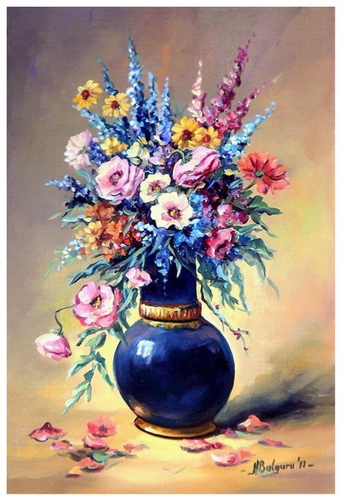 Picturi cu flori ELEGANTA (2)