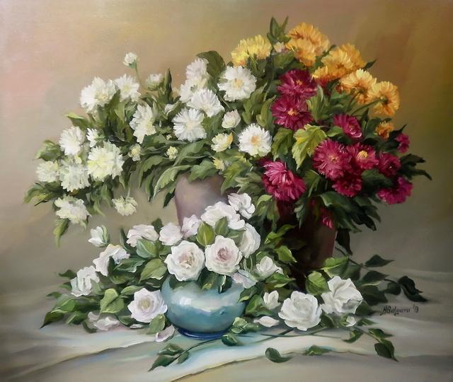 Picturi cu flori EMOTII FLORALE