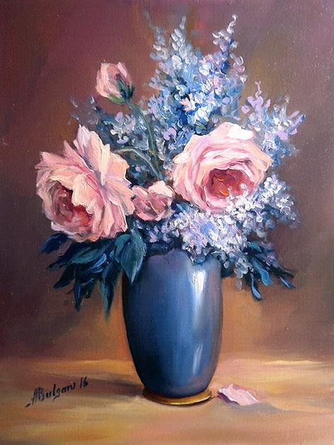Picturi cu flori MARTISOR BUJORI