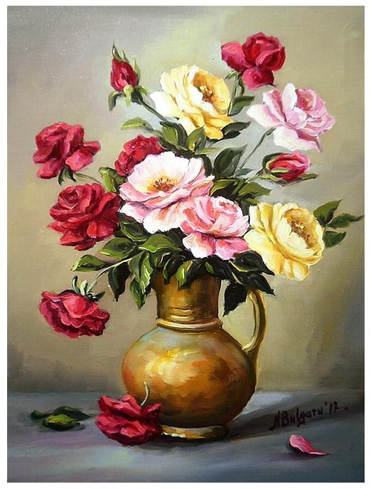 Picturi cu flori POEM ROZEKOR