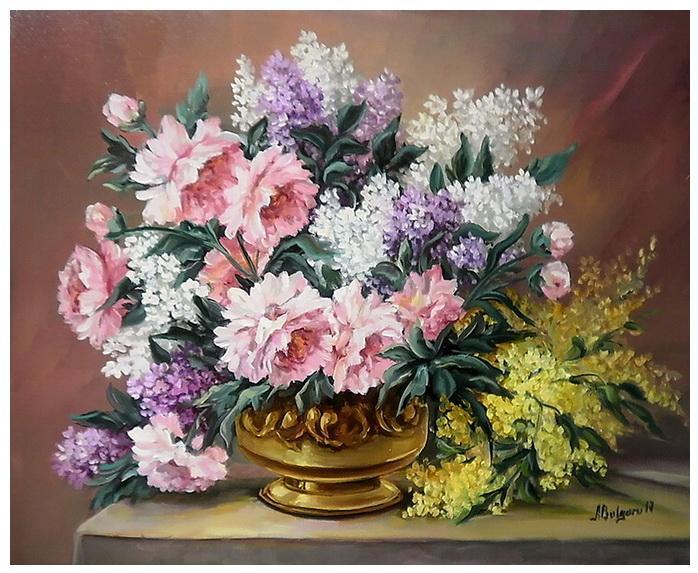 Picturi cu flori PRIMAVARA IN DAR (2)