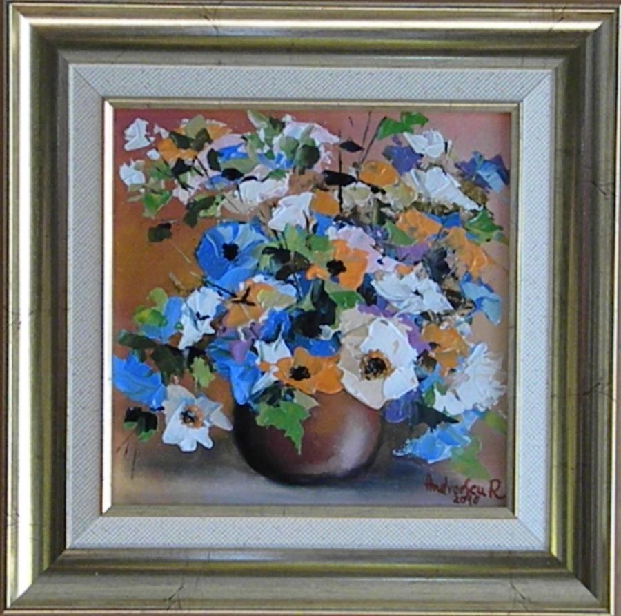 Picturi cu flori FLORI MULTICOLORE 3