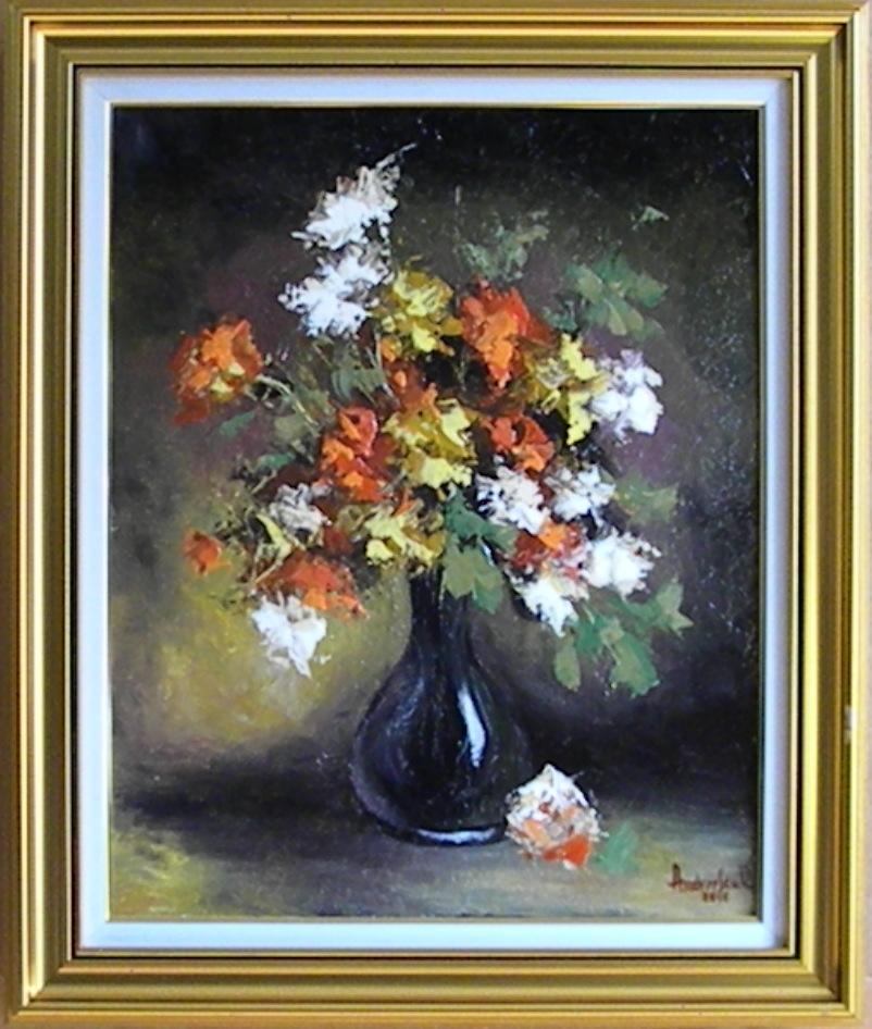 Picturi cu flori FLORI MULTICOLORE 4