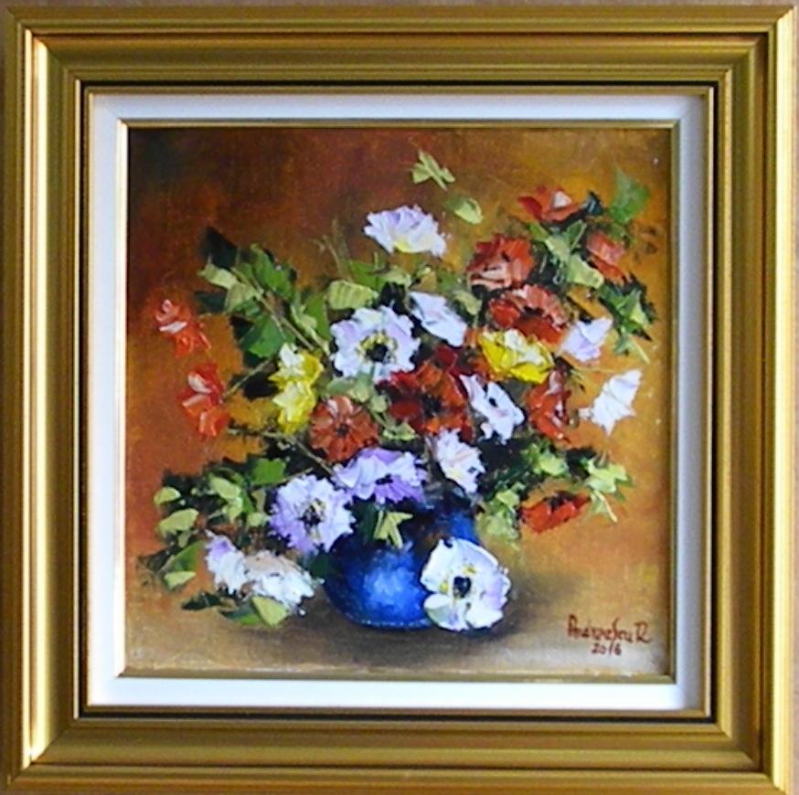 Picturi cu flori FLORI MULTICOLORE 5
