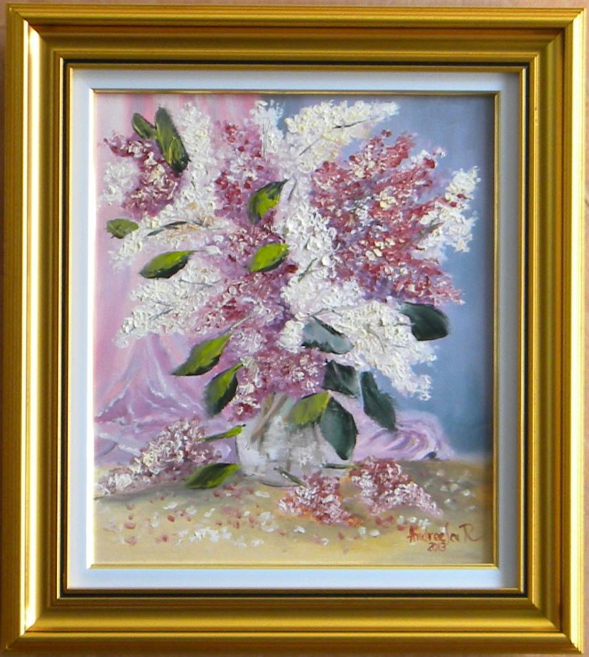 Picturi cu flori Liliac parfumat