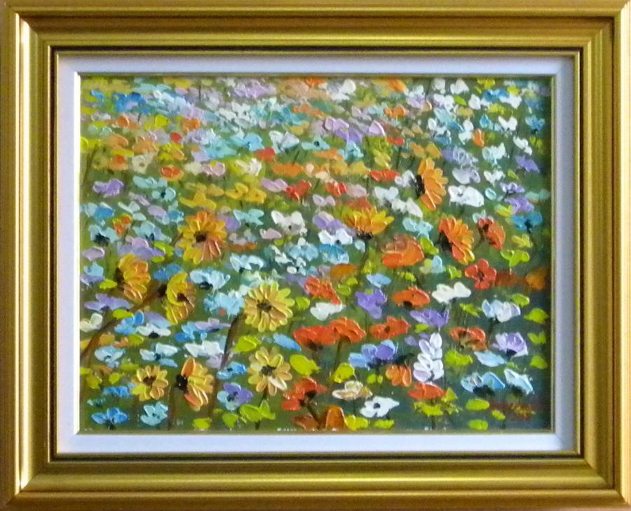 Picturi cu flori Tablou cu flori de camp