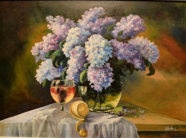 Picturi cu flori Liliac 0