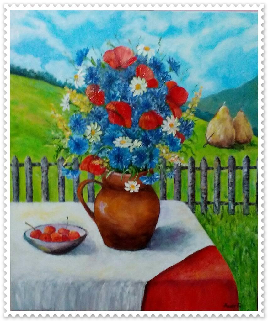 Picturi cu flori Flori de camp -9