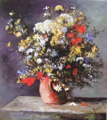 Picturi cu flori Flori de camp 1