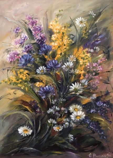 Picturi cu flori Buchet cu flori
