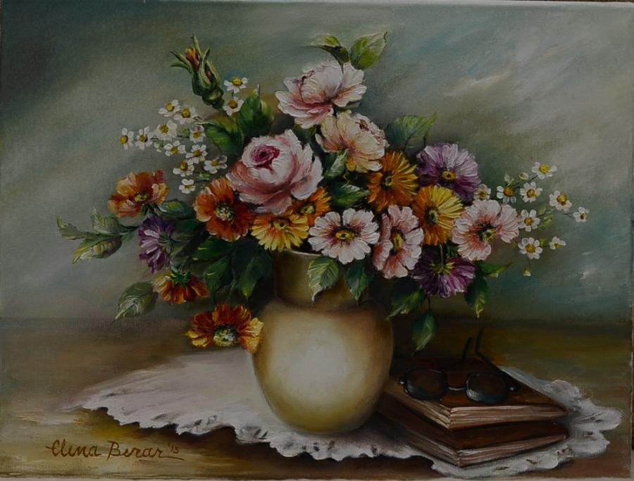 Picturi cu flori meditatie I