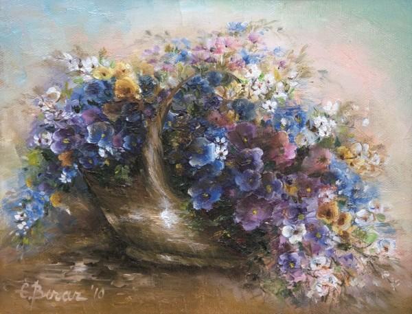 Picturi cu flori Nu ma uita