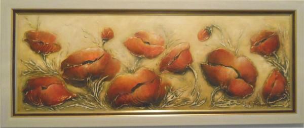 Picturi cu flori Veselia macilor