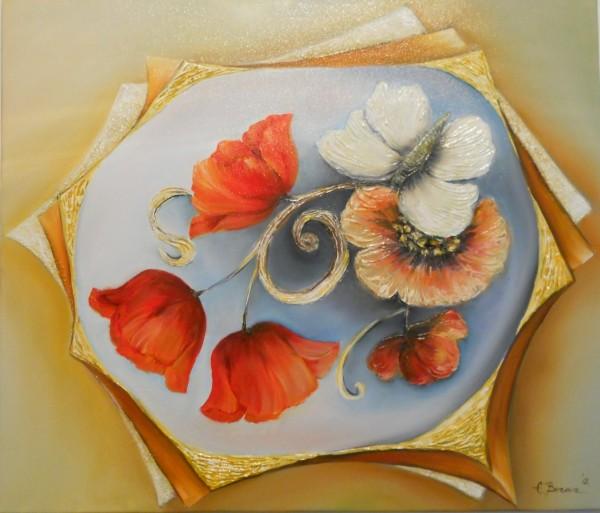 Picturi cu flori Vibratii