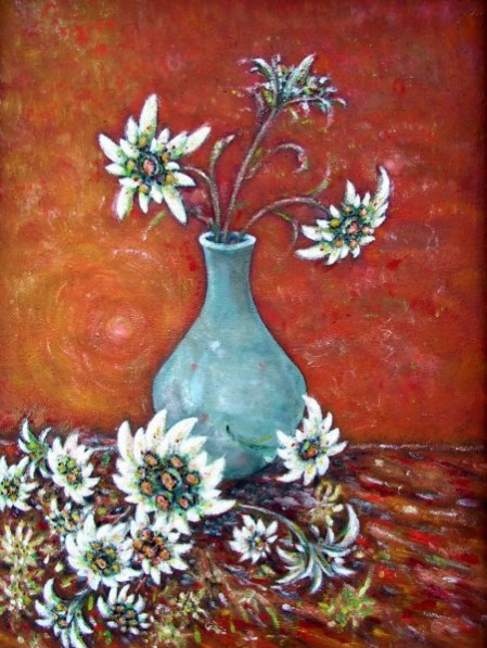 Picturi cu flori Tacere.florilor.de.colt