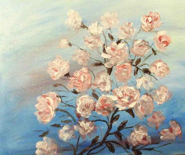 Picturi cu flori Boboci