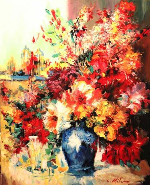 Picturi cu flori Feerie de culori