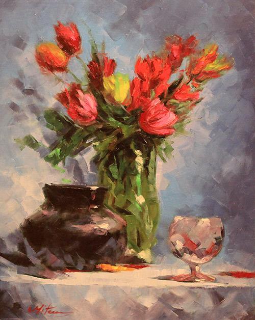 Picturi cu flori FLORI 035