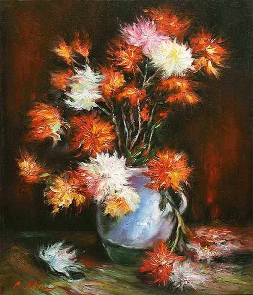 Picturi cu flori Flori 07