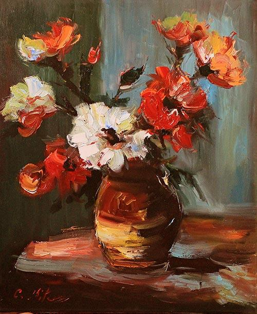 Picturi cu flori FLORI 55