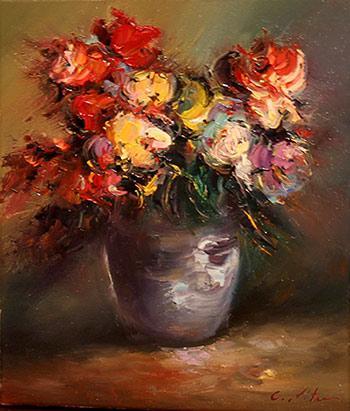 Picturi cu flori FLORII 01