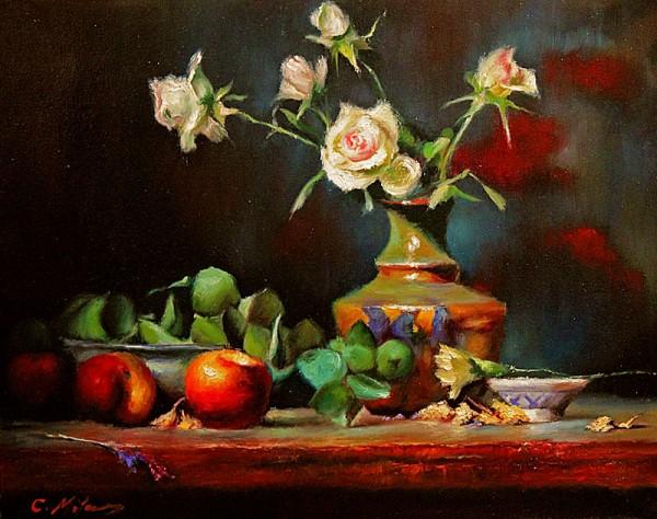 Picturi cu flori Natura statica 97