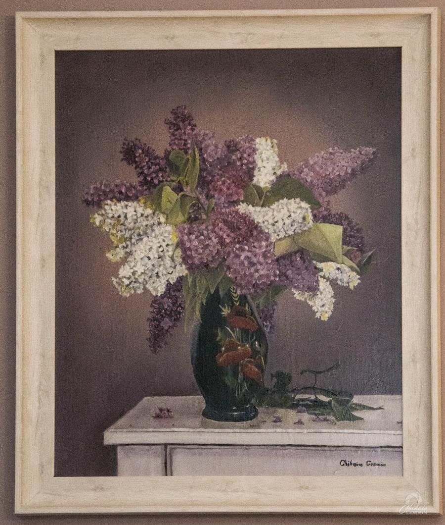 Picturi cu flori Liliac, de Chihaia Cosmin