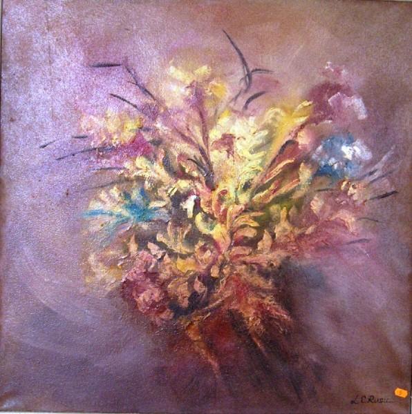 Picturi cu flori Flori de octombrie