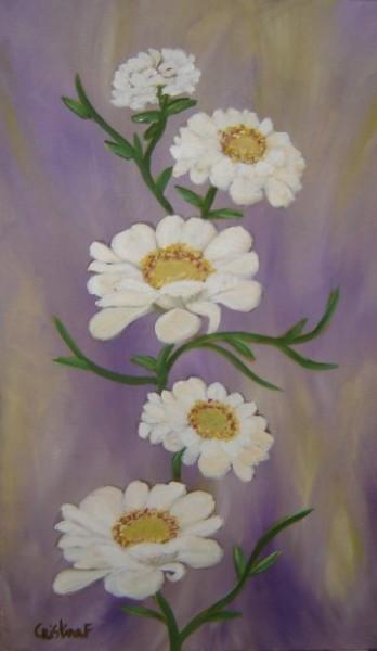 Picturi cu flori Zinnia
