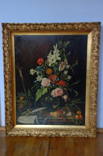 Picturi cu flori Tablou reproducere14