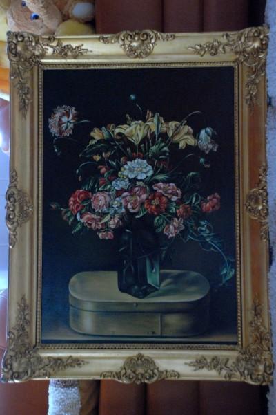 Picturi cu flori Tablou reproducere15