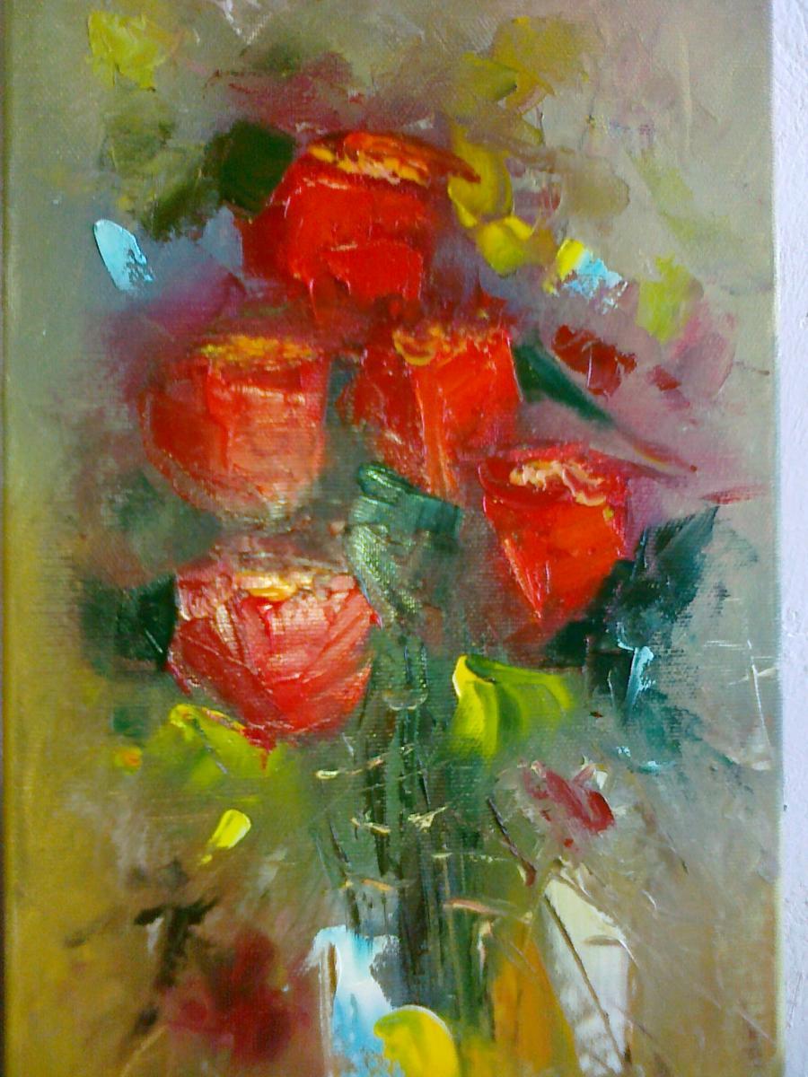 Picturi cu flori CU DRAGOSTE