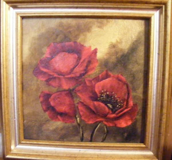 Picturi cu flori Alti maci