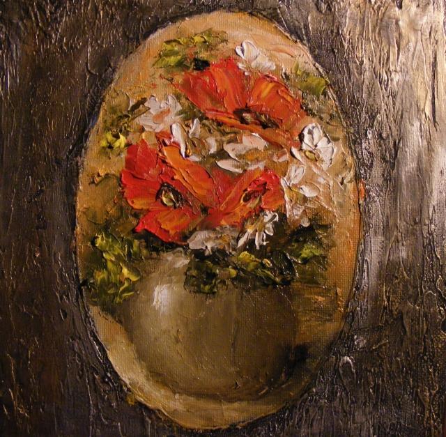 Picturi cu flori Amintiri de vara 1