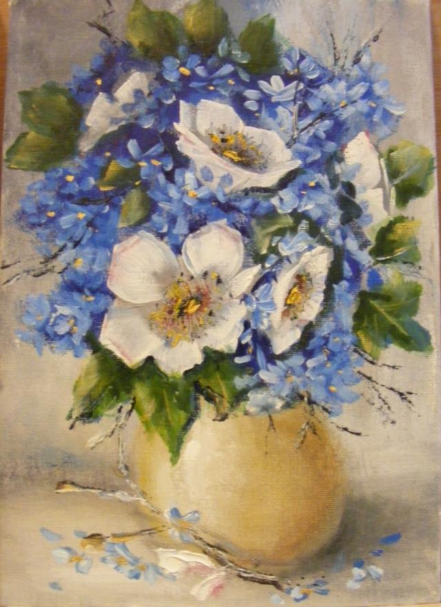 Picturi cu flori Buchetel de primavara