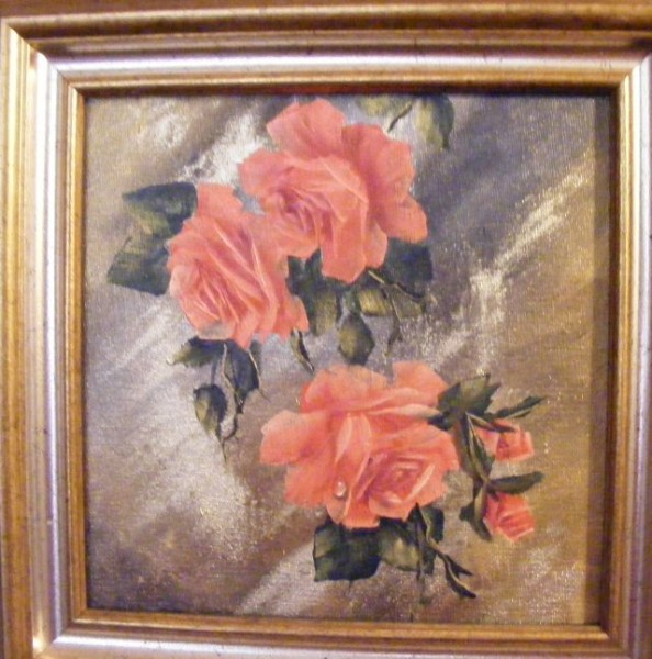 Picturi cu flori Ca piersica