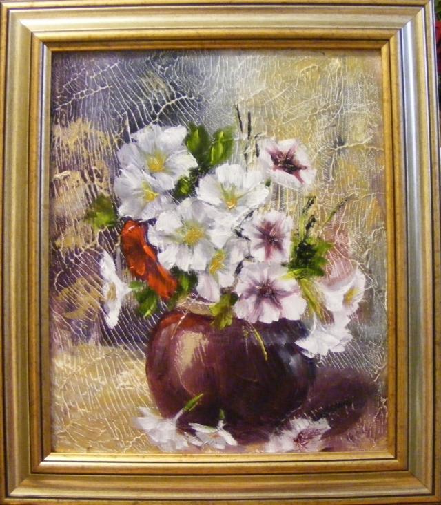 Picturi cu flori Flori parfumate